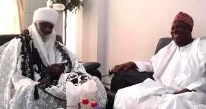 Emir Sanusi and Gov. Ganduje