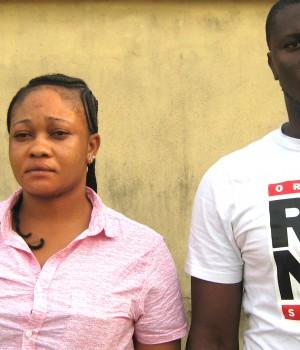 Chukwudi Ugwueke (a.k.a James Scott) and Sophia Ugwueke