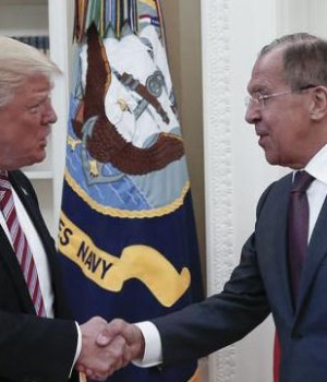 Trump and Lavrov