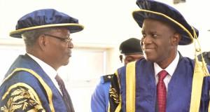 Senator Joseph Waku, and Prof. Fuwape