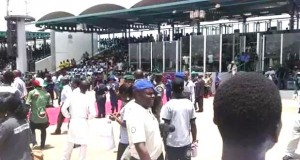 Workers disrupt Labour Day