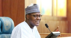 Yakubu Dogara,, Speaker of the House of Representatives