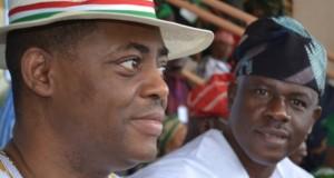 Femi Fani-kayode and Musiliu Obanikoro