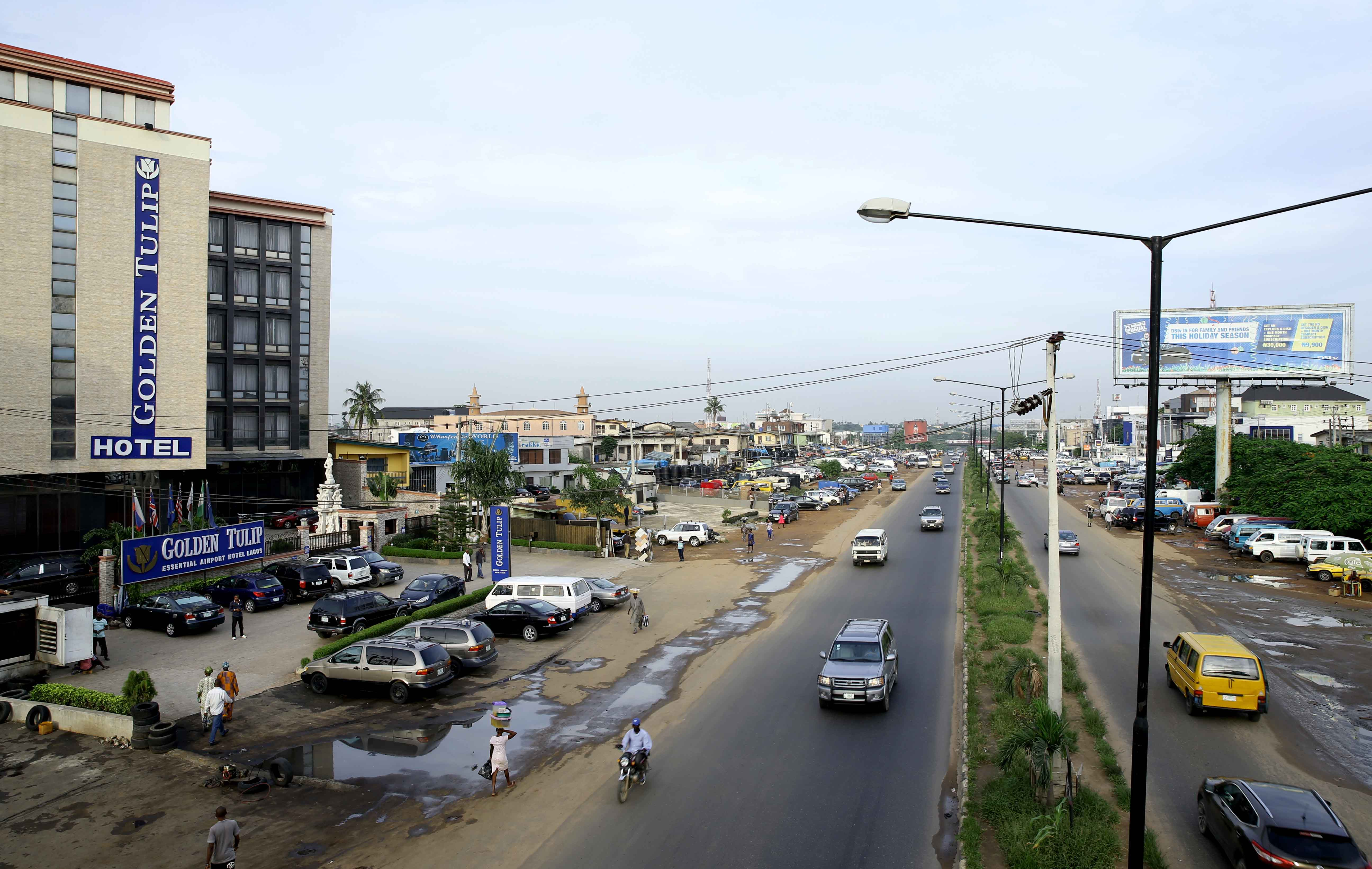 Current Images Of The Lagos International Airport Road
