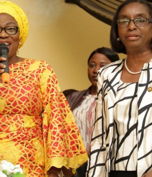 Bolanle Ambodeand representative of Lagos State Governor, Mrs. Funmilola Odunlami