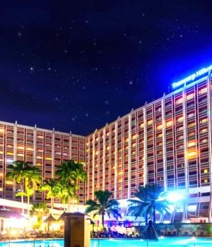 The newly refurbished Transcorp Hotel, Abuja