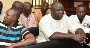 Suspected Land Grabbing Kingpin, Chief Kamorudeen Lamina and others