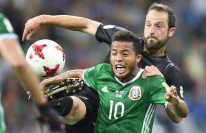Mexico rallied from behind to beat hard-fighting New Zealand