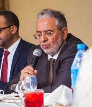 Acting Ambassador to Nigeria Dr Yahya Ali Mugram.