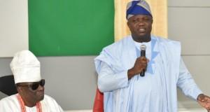Oba Rilwan Akinolu, Oba of Lagos and Gov. Ambode