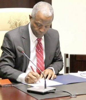 Osinbajo signs Executive Order