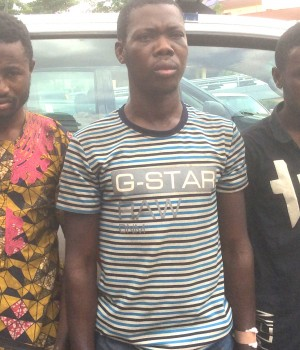 Suspected armed robbers nabbed by Lagos RRS