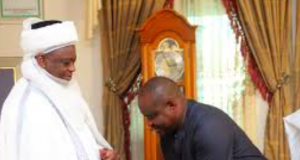 Sultan of Sokoto and Gov. Wike