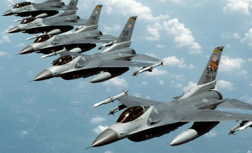 U.S Fighter jets