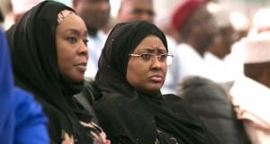 Toyin Saraki and Aisha Buhari at the Ramadan Lecture