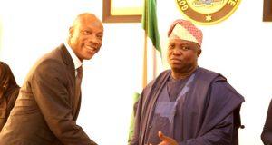 GTBank MD, Segun Agbaje and Gov. Ambode