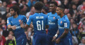 Arsenal thrash Benfica 5-2