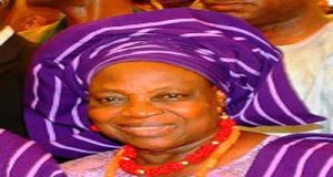 Chief Bisi Akande's wife, late Omowunmi