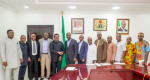 NDPHC officials visit Gov. Obaseki