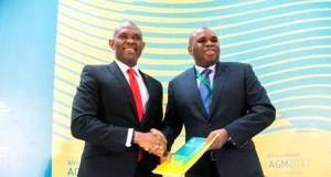 Elumelu and Afrexim boss, Dr Okey Oramah