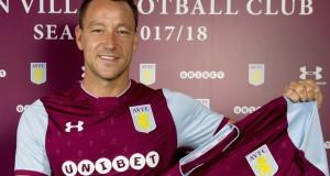 John Terry joins Aston Villa