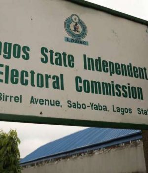 Lagos State Independent Electoral Commission, LASIEC-office in Yaba, Lagos
