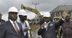NDDC inspects failed East-West Road