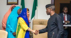 Malala-Yousafzai meets AG President Osinbajo
