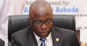 Akinyemi Asade, Lagos Finance Commissioner