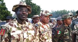 Buratai and Saddiq Abubakar