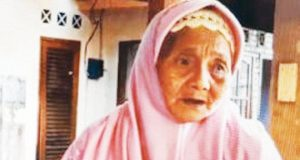 Oldest pilgrim from Indonesia, Bala Mariah