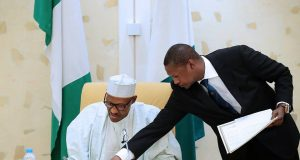 President Buhari signs Agreement