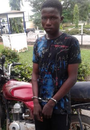 Suspected Armed thief, Ahmed Lateef