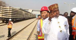 Amaechi inspects rail lines