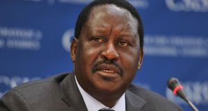 Raila-Odinga, Kenyan opposition leader