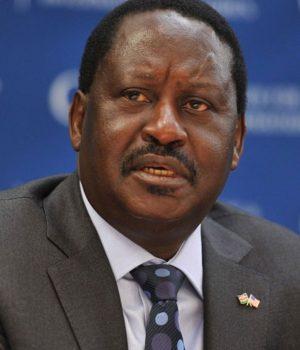 Raila-Odinga, Kenyan opposition leader