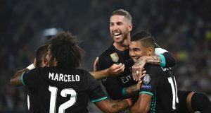 Real Madrid beat Man United in Super Cup