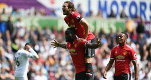Man United humiliate Swansea City