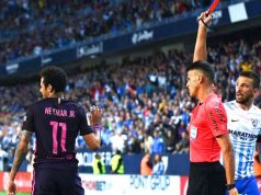 And Neymar gets Red Card
