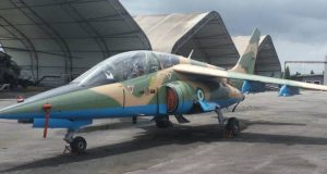 Alpha Jet aircraft