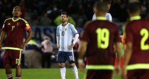 Messi fires blank against Venezuela