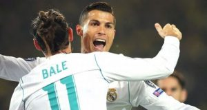 Bale and Ronaldo celebrate Dortmund bashing