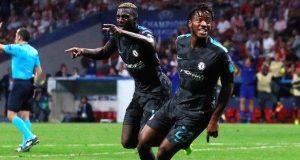 Michy Batshuayi scores the winner for Chelsea