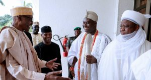 Buhari, Osinbajo, Ooni and Sultan