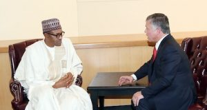 President Buhari and King Abdullah of Jordan
