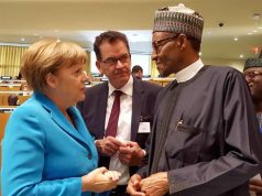 Buhari and Merkel