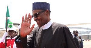 Buhari-leaves-for-New York