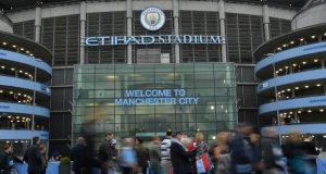 Ethihad Stadium, home of Manchester City