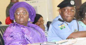Lagos Dep. GOV. Idiat Adebule and Lagos CP, Imohimi Edgal