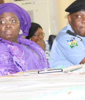 Lagos Dep. GOV. Idiat Adebule and Lagos CP, Imohimi Edgal